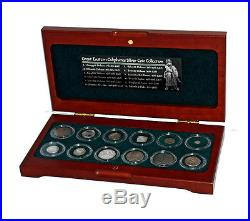 World Coins GREAT EASTERN CALIPHATES 12 SILVER COINS COLLECTION
