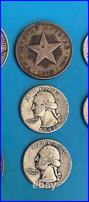 World Silver Coins, Lot of 8, Lot #577, Canada, United States VG-XF