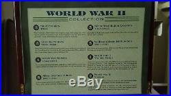 World War II Collection with Presentation Box & COA 19 Silver Coins+ Victory Medal
